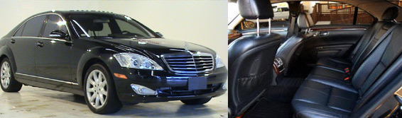 Mercedes Benz S550 Rental