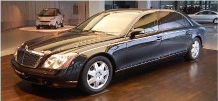 Rent Exotic Cars Maybach